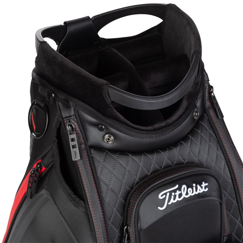 "Jet Black '9.5"" Tour' Golf Bag"