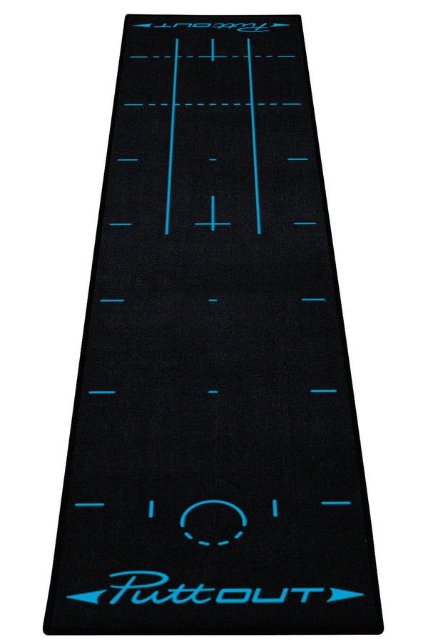Black Deluxe Putting Mat - 2020