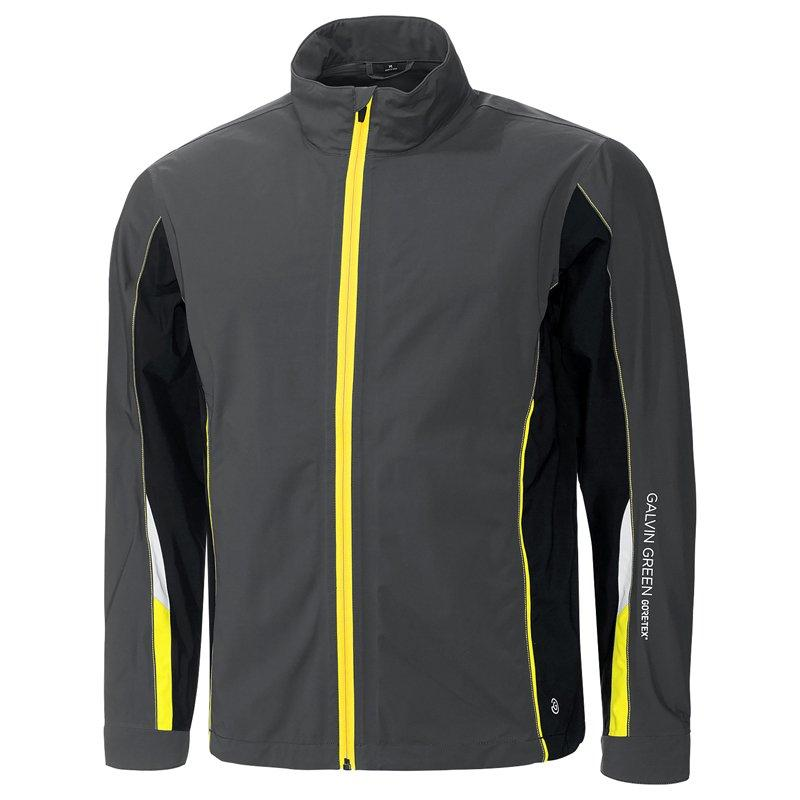 fb9d2f46fdf IRON GREY BLACK YELLOW AVERY GORE-TEX JACKET - AW17 – Capital Golf