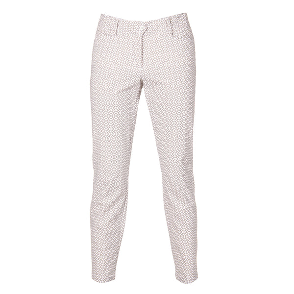 White Grey SLADER Trouser - Female / SS18