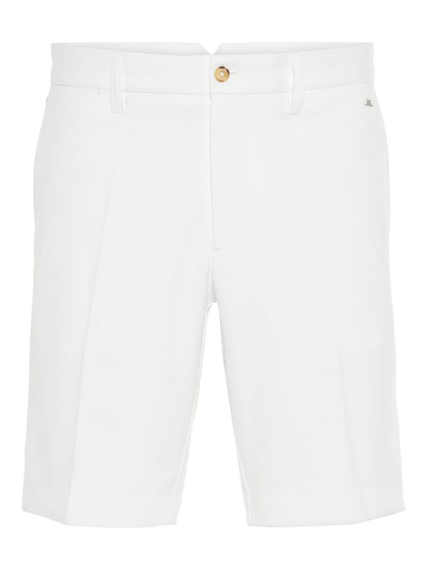 White Eloy Tapered Micro Stretch Classic  GOLF SHORT  - Men's / SS19