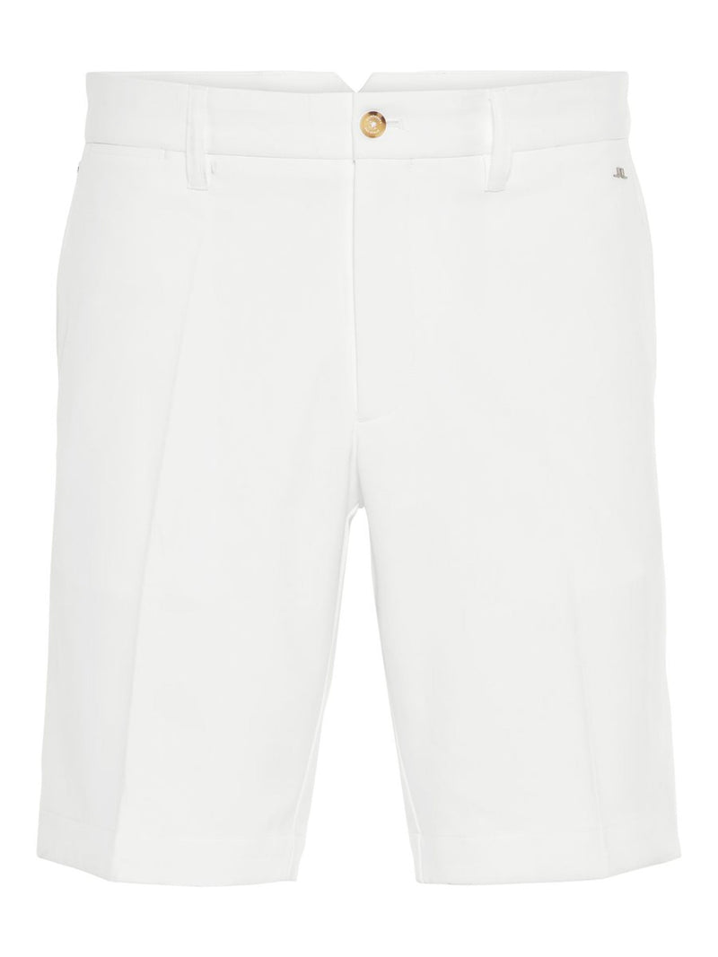 White Eloy Tapered Micro Stretch Classic  GOLF SHORT  - Men's / SS20