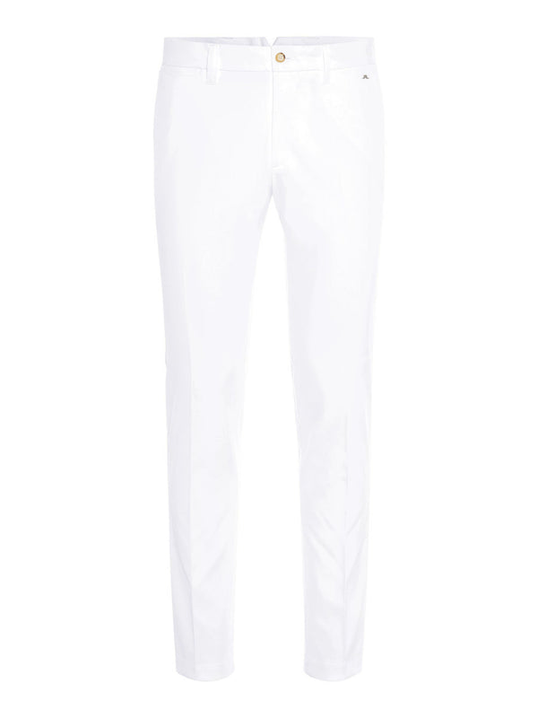 White Ellott Tight Micro Stretch Golf Trouser - Men's / SS20