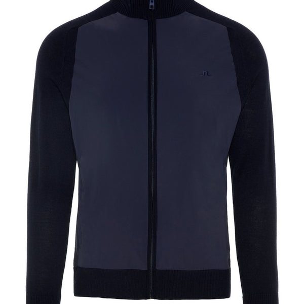 6b6e47be6809 JL Navy M Knitted Hybrid Jacket Outerwear Performance - Men's / AW18 –  Capital Golf