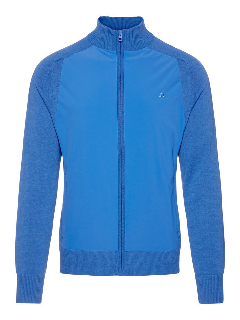 Work Blue KNITTED SOFTSHELL JACKET  - Men's / SS19