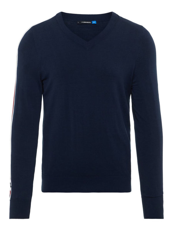 Navy NOLANS PIMA COTTON SWEATSHIRT  - Men's / SS19