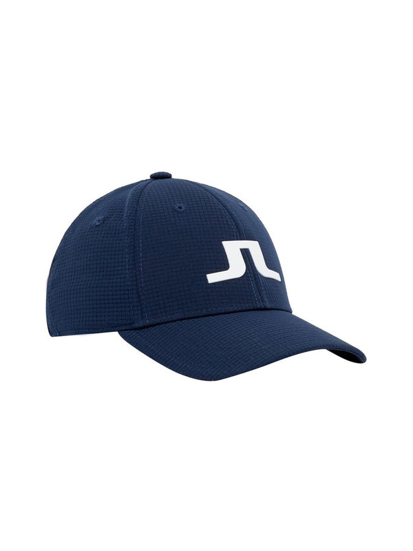 Navy CADEN TECH MESH GOLF CAP - MEN'S / SS19