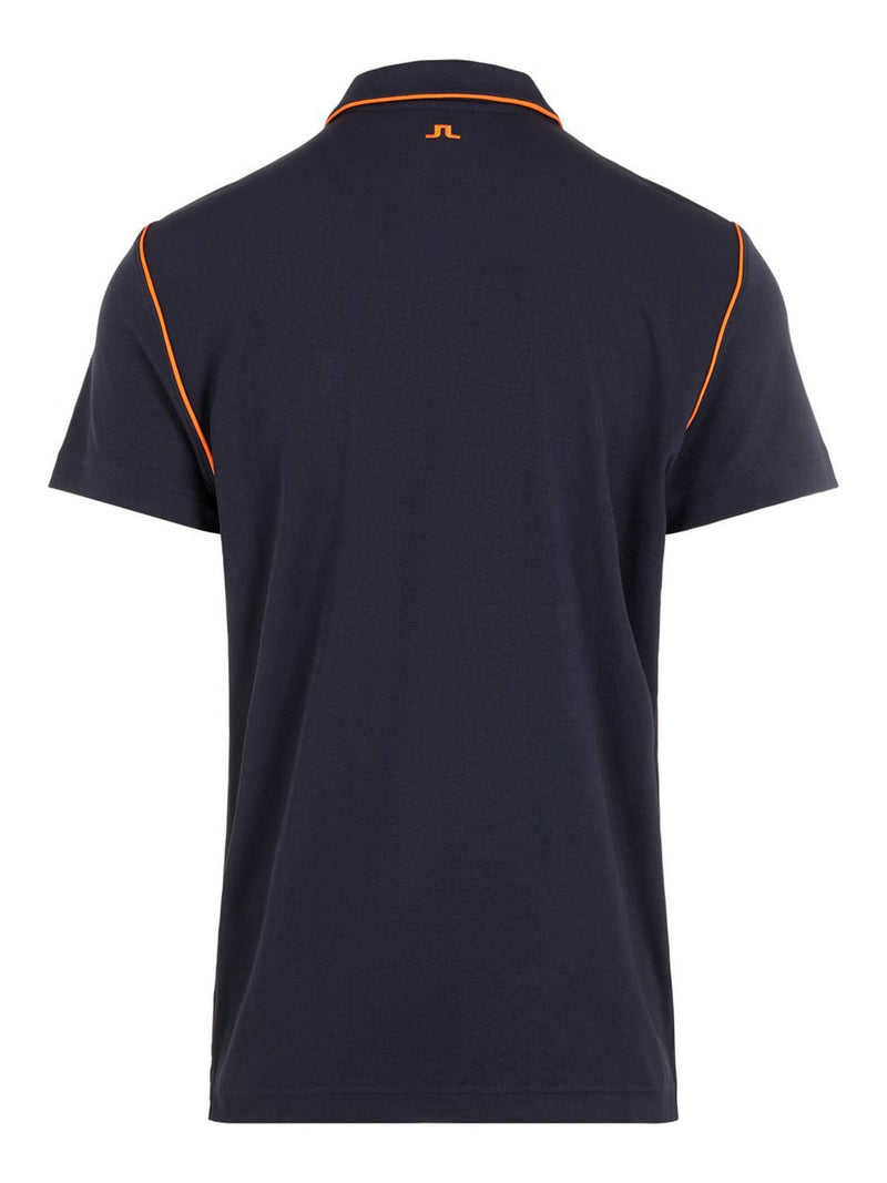 Navy Tomi Reg fit Lux Piquet Golf Polo - MEN'S / AW19