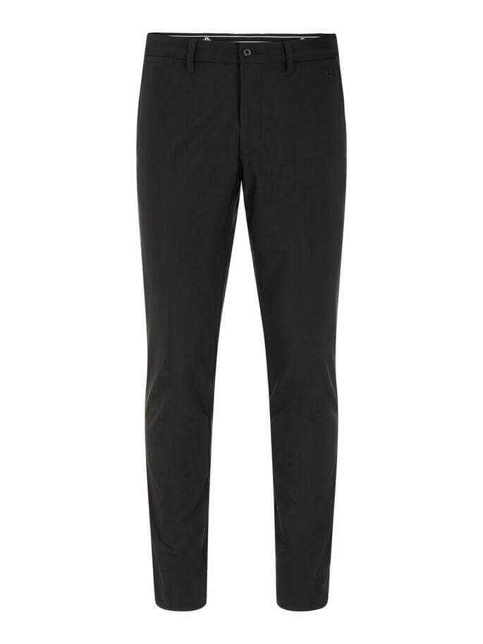 Black Ellott Tight-Bonded Micro STRETCH GOLF TROUSERS - MEN / AW19