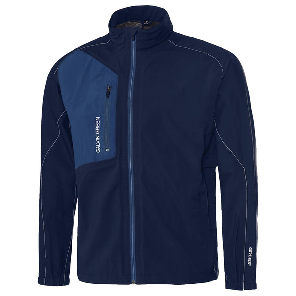 NAVY Angelo GORE-TEX® PACLITE® TECHNOLOGY GOLF JACKET - Men's / SS18