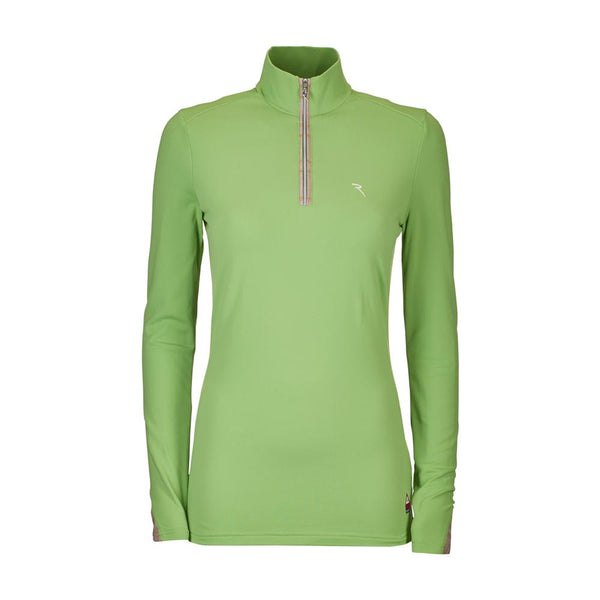 WASABI GREEN TELAVO TURTLENECK - WOMEN / OUTLET