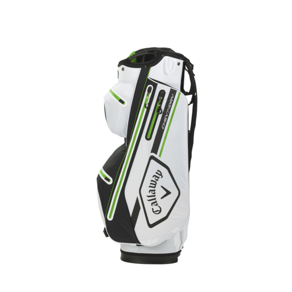 WHITE 'CHEV DRY 14' CART BAG