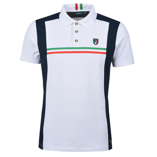 WHITE ANALISTA POLO - Men / OUTLET