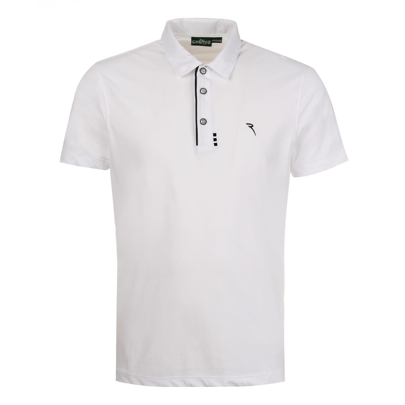 WHITE ASTAIRE POLO - Men / OUTLET