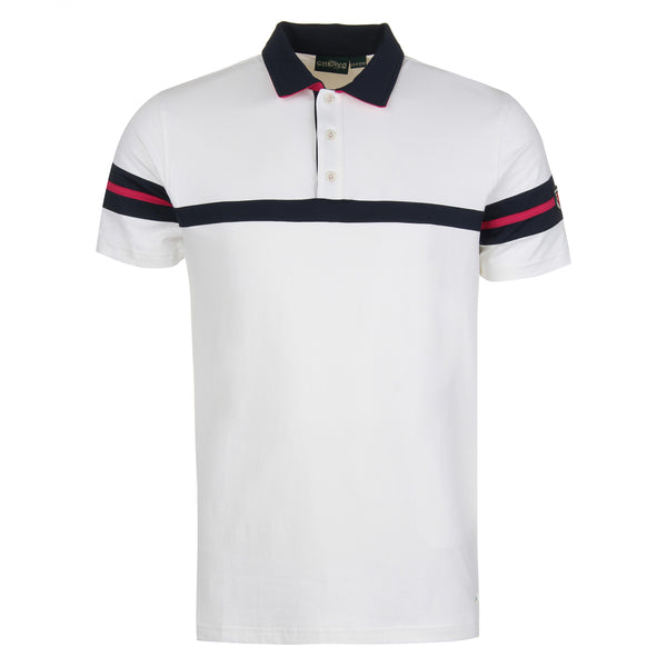 White AUTORE Polo - Men's / 2018