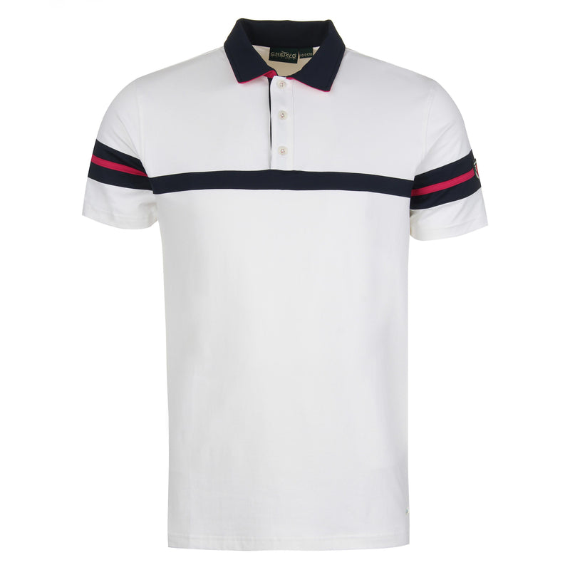 White AUTORE Polo - Men / OUTLET