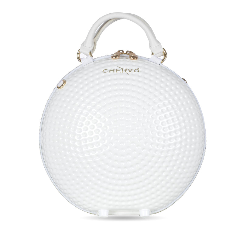 WHITE UCHAINBALL BAG - WOMEN / SS19
