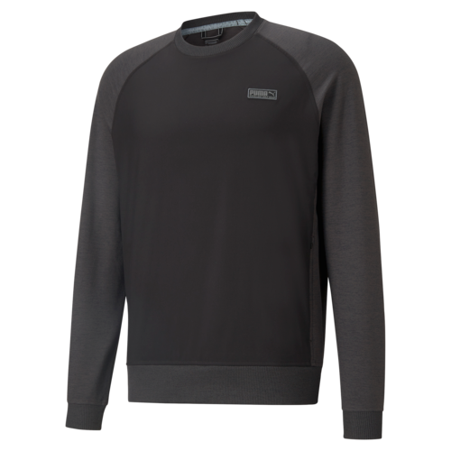 Black 'EGW' Cloudspun Golf Crewneck - MEN