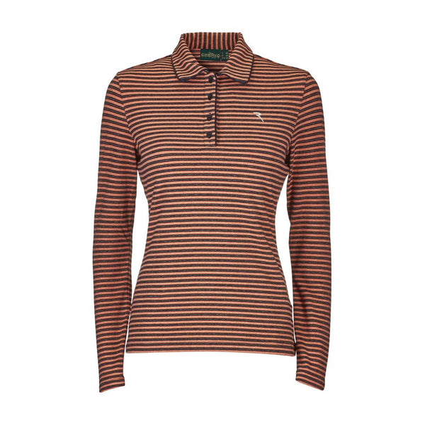 PINK BLACK ALBE POLO  - WOMEN / OUTLET