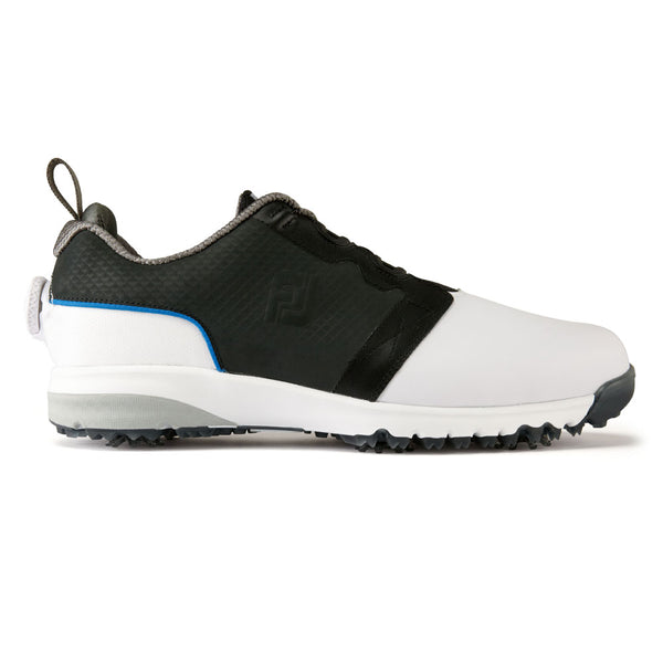 WHITE/NAVY/GREY CONTOUR FIT BOA golf SHOE - Men / Outlet
