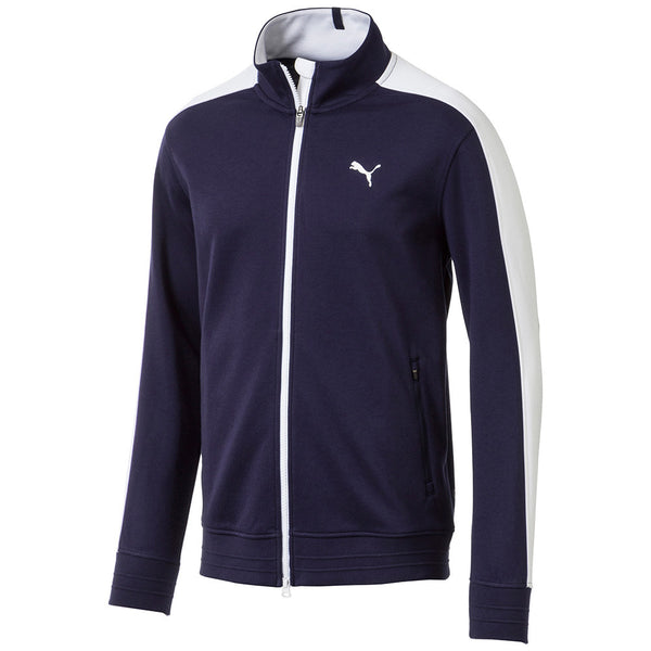 NAVY 'T7 Track' GOLF SWEATER - MEN / OUTLET