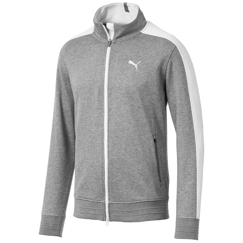 GREY 'T7 Track' GOLF SWEATER - MEN / OUTLET