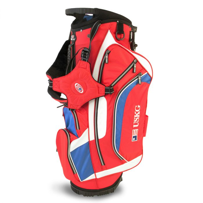 Red/White/Blue 'Tournament' Stand Bag