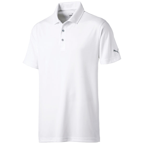 White 'Rotation' Golf Polo - MEN / SS20