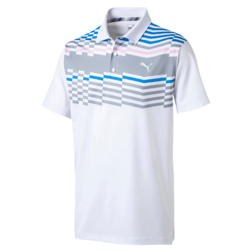 PINK ROAD MAP GOLF POLO - MEN'S / SS19