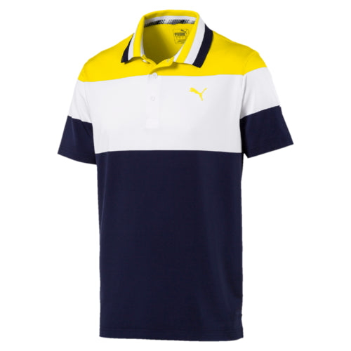 YELLOW NINETIES GOLF POLO - MEN'S / SS19