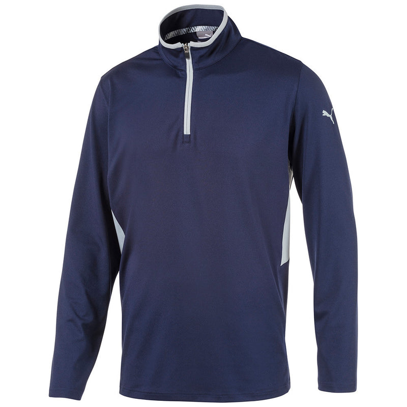 Navy 'Rotation 1/4 Zip'  Golf Pullover - MEN / SS20