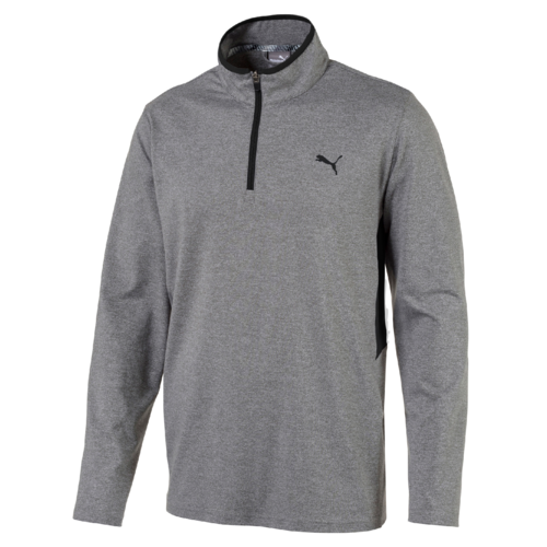 Grey Rotation 1/4 Zip Mid-Layer - MEN / AW19