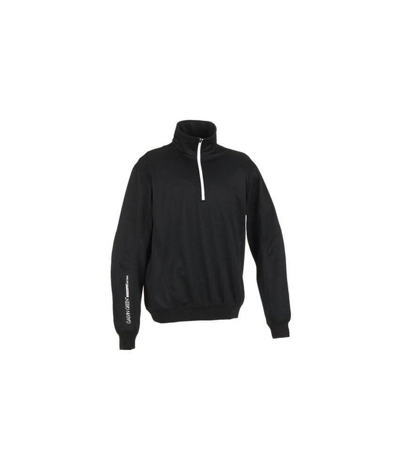 BLACK BAXLEY WINDSTOPPER® 1/2-ZIP JACKET - MEN / OUTLET