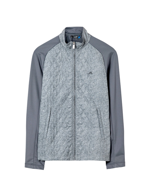 GRANITE MELANGE ROBERT HYBRID JACKET   -
