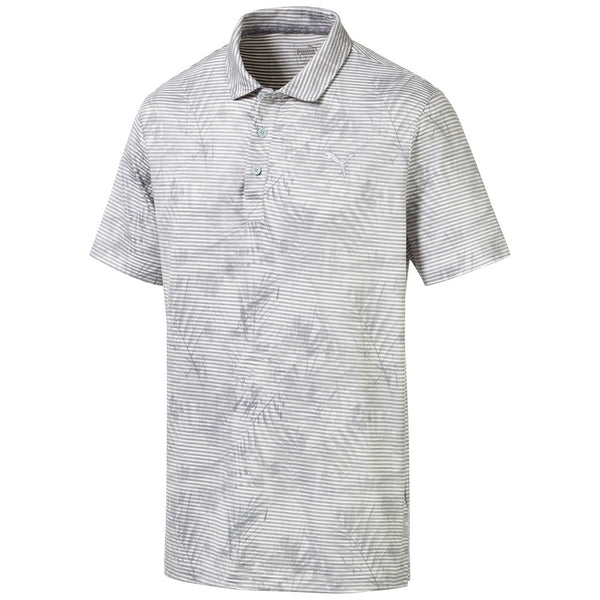 Grey Fronds Golf Polo - Men / AW19