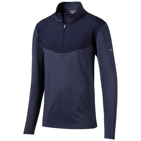 Navy Preston 1/4 Zip GOLF MID-LAYER - MALE / AW19