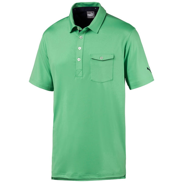 Green Donegal Golf Polo - MALE / AW19