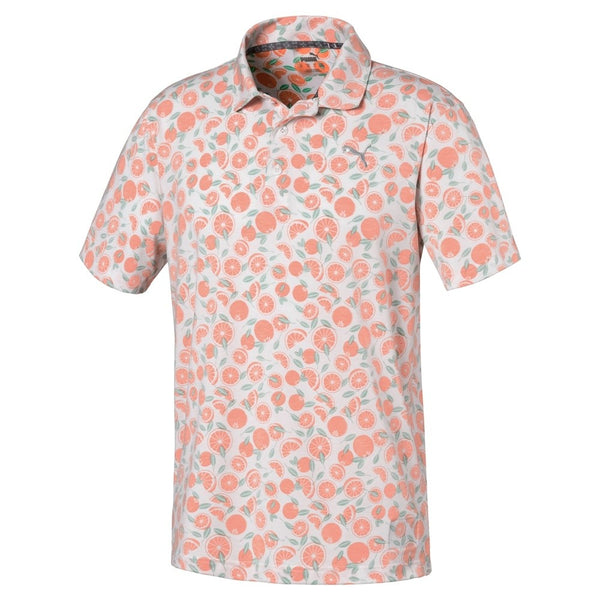 Printed 'Slices' Golf Polo Shirt - Limited Edition / MEN