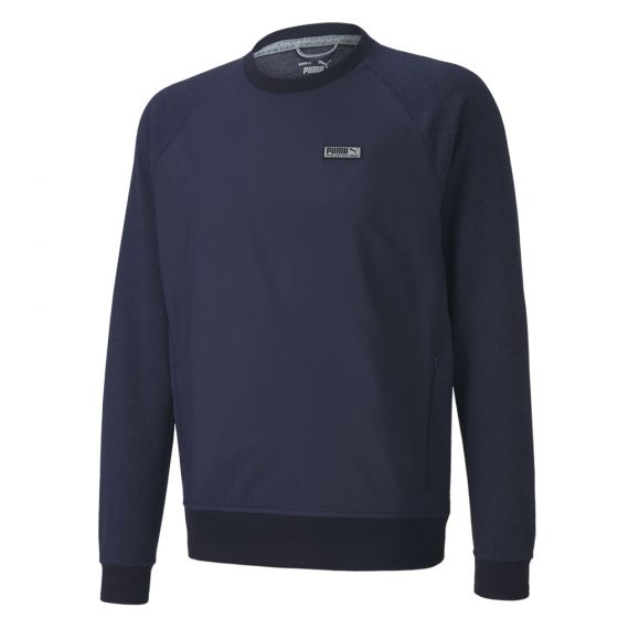 NAVY 'RUNWAY GOLF CREW' Excellent golf wear - MEN / AW20