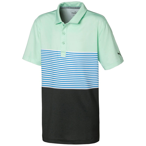 Mist Green 'Taylor' Golf Polo - Junior / SS20