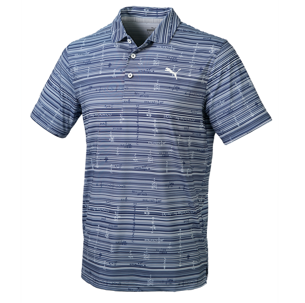 NAVY 'OPTIMIZED VARIABLES' GOLF POLO SHIRT - SS20 / MEN