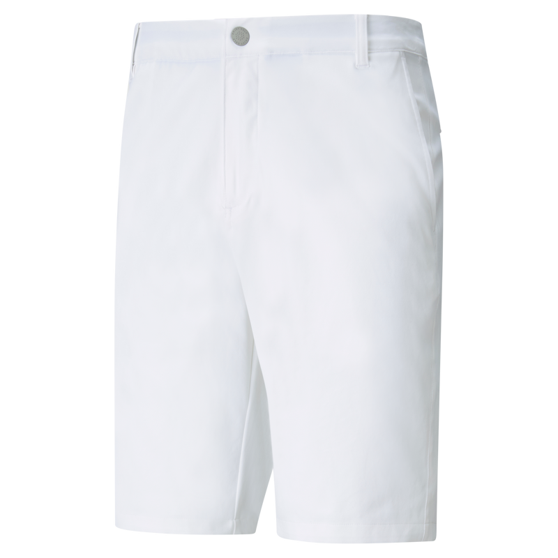 WHITE 'JACKPOT' GOLF SHORT - MEN