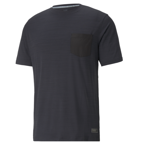 Puma Black Heather 'EGW' Cloudspun Pushcart Pocket Tee