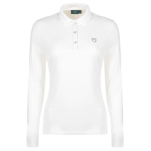 White ANSELMA Polo  - WOMEN / OUTLET
