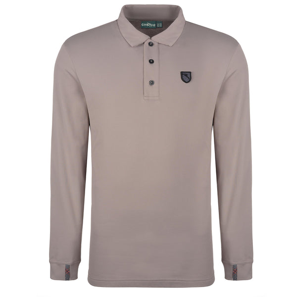 MUD BROWN ANTWAN POLO  - MEN / OUTLET