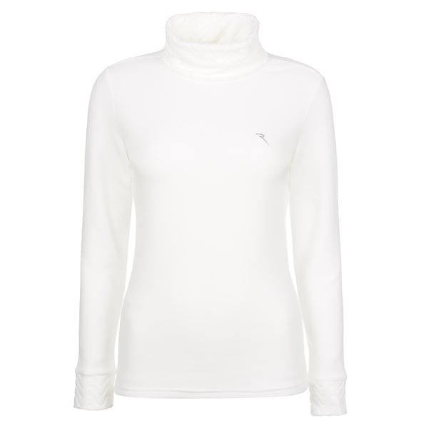 WHITE TUTTO TURTLENECK - WOMEN / OUTLET