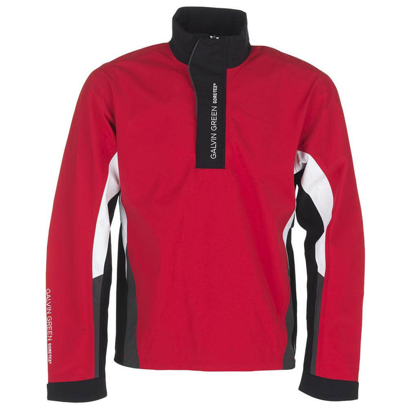 ELECTRIC RED/BLACK/WHITE/IRON GREY ALBIN HALF ZIP JACKET - MEN / OUTLET