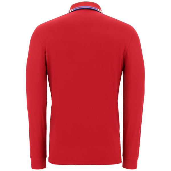 red ATEM golf polo - MEN / AW19