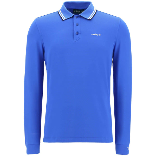 blue ATEM golf polo - MEN / AW19