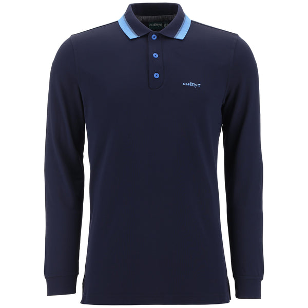 navy AUGE polo - MEN / AW19